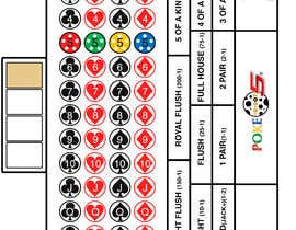 #12 for New Live Casino Table Game Layout Design Needed (EXPERIENCE WITH AMERICAN ROULETTE LAYOUT DESIGN PREFERRED) -- 2 by dimmed7