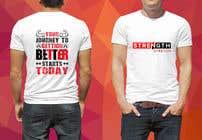 "Graphic Design Intrarea #75 pentru concursul ""Tshirt design for my company"""