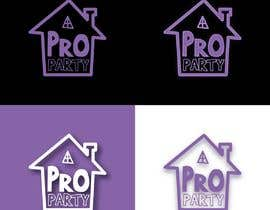 """Nro 27 kilpailuun Can you please create a logo for the word """"Proparty"""" using the house party theme ... the other images are the brand other brand colours and schemes käyttäjältä rizalmulyana7"""