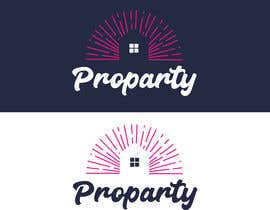 """Nro 20 kilpailuun Can you please create a logo for the word """"Proparty"""" using the house party theme ... the other images are the brand other brand colours and schemes käyttäjältä mounaim98bo"""