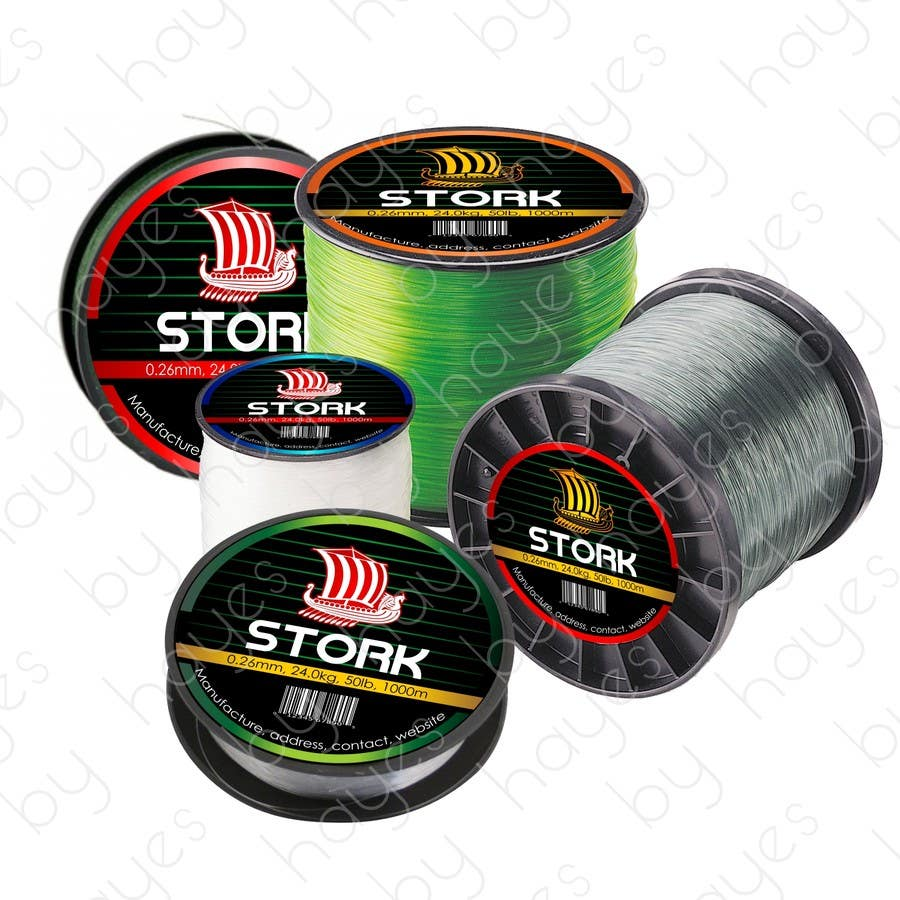 Design a logo for a fishing line brand and a fishing for Fishing line brands