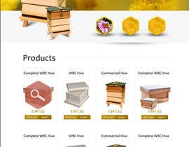 nº 4 pour Website Design for newly designed beehive eCommerce site par SadunKodagoda