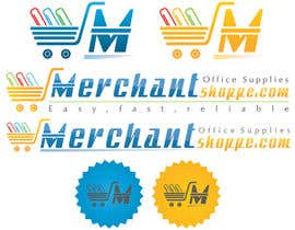 #35 for Logo Design for Merchantshoppe.com af pateljayendra78