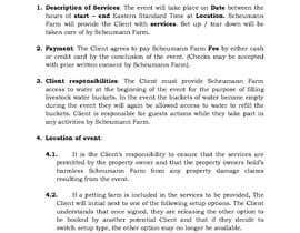 #20 untuk Make my contract look more professional and easy to edit oleh Adnan51272