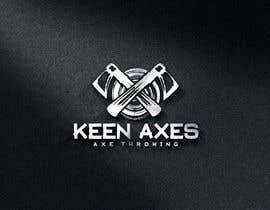 Nro 110 kilpailuun Logo design for an Axe Throwing business käyttäjältä fokirmahmud47