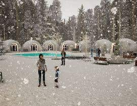 #29 for Renderings for a mountain resort by sihagarts