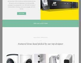 #5 for design home page for print webshop by sharifkaiser
