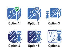 #16 for 7 icons are required to be designed as a shortcuts based on our logo by atifbhatti89