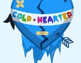"cirleacatalin tarafından I'm starting a new clothing line ""Cold Hearted"". I need someone to recreate this exact logo that I've attached. I'm looking to award someone as soon as possible!!! için no 7"