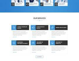 #5 for Website design for a healthcare e-service provider af tajenul
