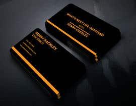 #242 untuk Business card Design (Life Coach seeks your design advice!) oleh zalakrajaopi