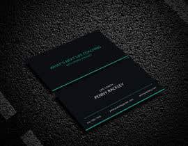 #243 untuk Business card Design (Life Coach seeks your design advice!) oleh mdrj2021