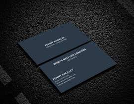 #106 untuk Business card Design (Life Coach seeks your design advice!) oleh royprokahs