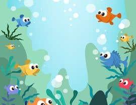 #5 для Cartoon Mermaid Scene от harsamcreative