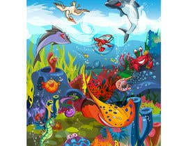 #22 для Cartoon Mermaid Scene от orrlov