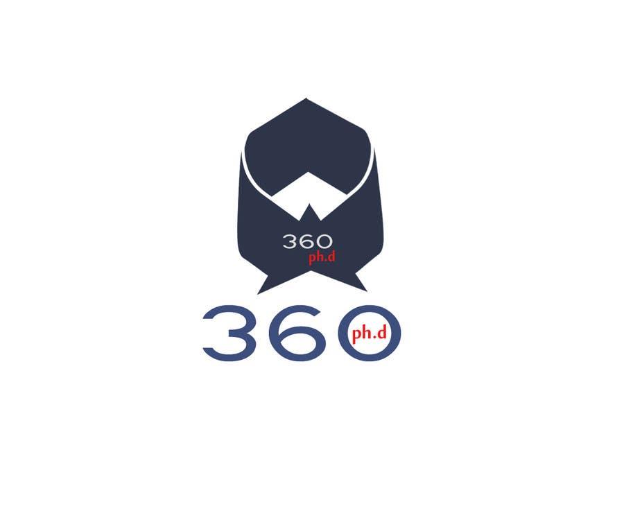 Kilpailutyö #14 kilpailussa Logo Design for 360 ph.d. application