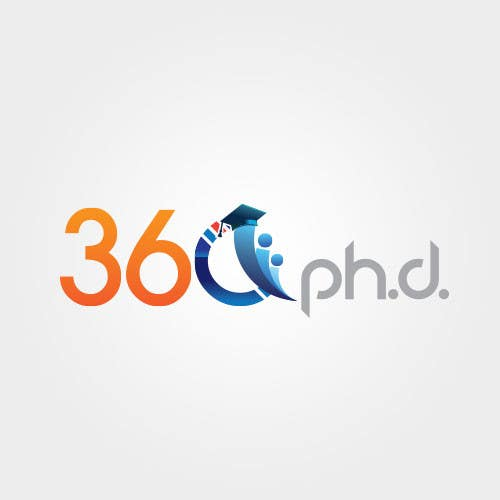 Contest Entry #40 for Logo Design for 360 ph.d. application