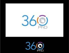 #55 para Logo Design for 360 ph.d. application por jummachangezi