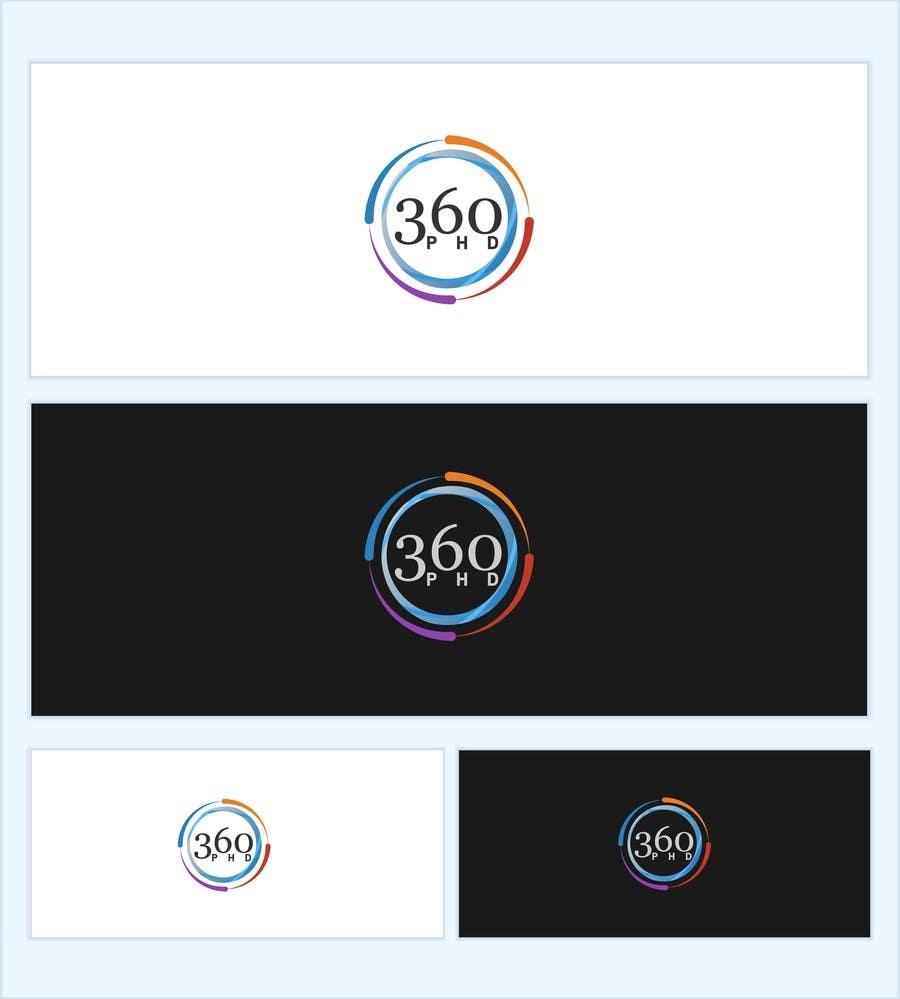 Contest Entry #82 for Logo Design for 360 ph.d. application