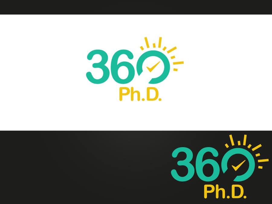 Contest Entry #75 for Logo Design for 360 ph.d. application