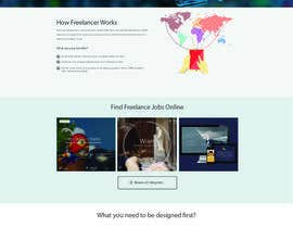 nº 6 pour Design a Job Board WordPress Themes mockup par nilsoft123