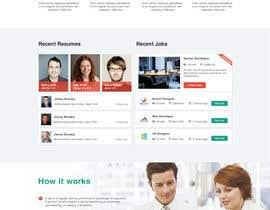 nº 18 pour Design a Job Board WordPress Themes mockup par phamtech211