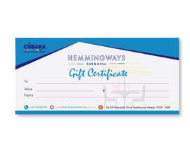 #21 for Create Gift Certificate by tayyabaislam15
