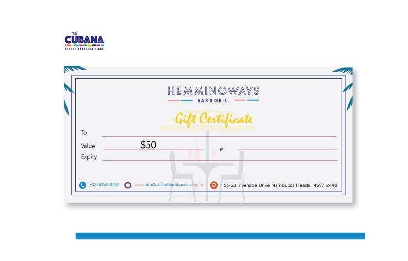 Конкурсная заявка №                                        23                                      для                                         Create Gift Certificate