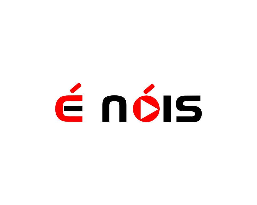 Конкурсная заявка №                                        68                                      для                                         I need a logo with the phrase  É Nóis and is for a vlog channel and I have identical twin daughters, i really want the words in a cool font and something nice but if you can add something twins related that is a bonus.
