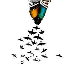 Nro 4 kilpailuun Feather Tattoo Design käyttäjältä marysiagajewska