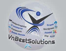 #22 para Logo Design for VnBestSolutions por krizdeocampo0913