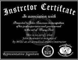 #3 untuk Make landscape style instructor certificate oleh abdullahalmmn6