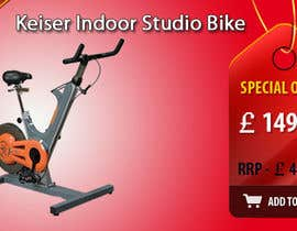 #17 untuk Banner Ad Design for Gym Equipment Supplier oleh tanars