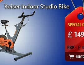 #19 untuk Banner Ad Design for Gym Equipment Supplier oleh tanars