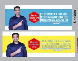 #131 for Build Facebook & linkedin cover image by zakir1102