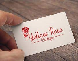 #207 for Logo Design For Yellow Rose Boutique - Clothing Store by MohammadFahim70