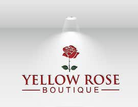 #200 for Logo Design For Yellow Rose Boutique - Clothing Store by hossinmokbul77