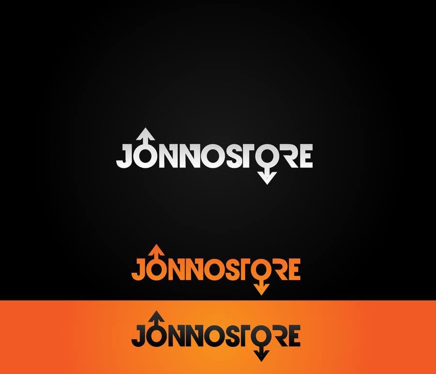 Penyertaan Peraduan #                                        56                                      untuk                                         Logo Design for jonnostore