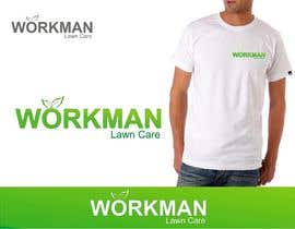 "#155 untuk Logo Design for ""Workman Lawn Care oleh taffy1529"