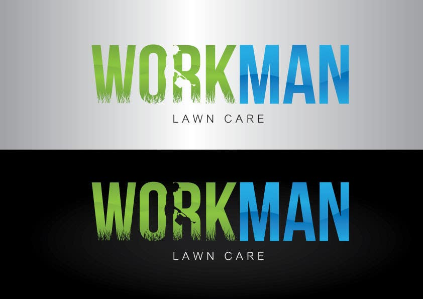 "#77 for Logo Design for ""Workman Lawn Care by GeorgeOrf"