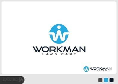 "#68 for Logo Design for ""Workman Lawn Care by Dewieq"