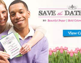 #63 para Banner Ad Design for Wedding Web Site por vigneshhc
