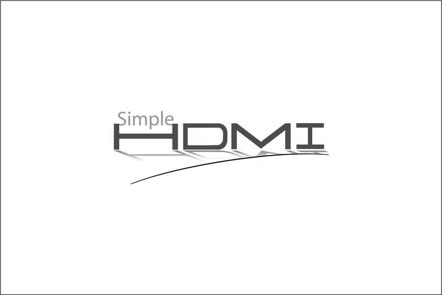 Kilpailutyö #                                        63                                      kilpailussa                                         Logo Design Simple HDMI