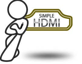 nº 102 pour Logo Design Simple HDMI par terryhoulding