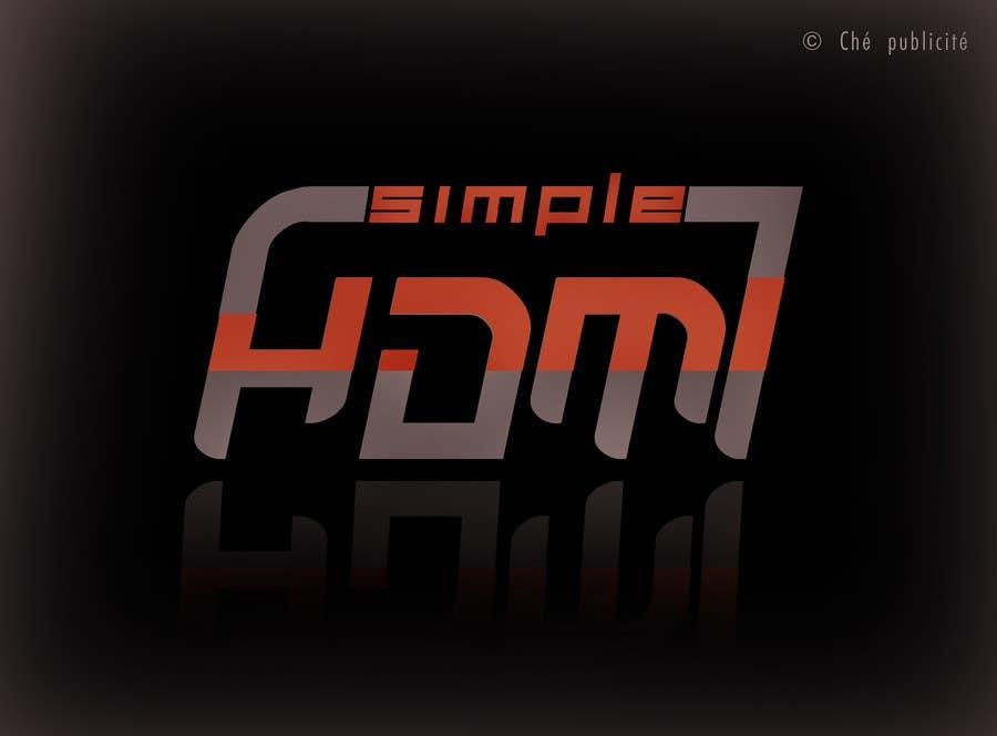 Kilpailutyö #                                        85                                      kilpailussa                                         Logo Design Simple HDMI