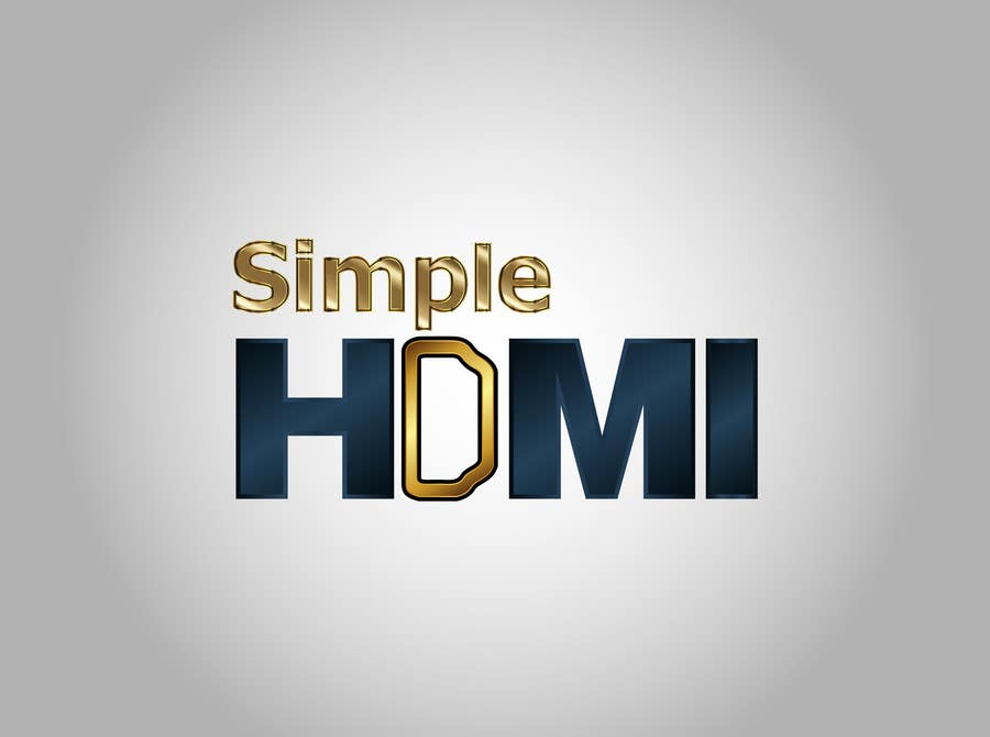 Kilpailutyö #                                        49                                      kilpailussa                                         Logo Design Simple HDMI