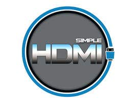nº 69 pour Logo Design Simple HDMI par andrewdigger