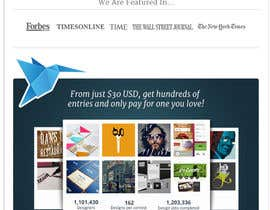 #706 para Freelancer.com contest! Design our Homepage! por gfxbucket