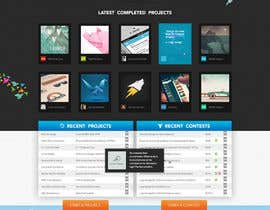 #577 para Freelancer.com contest! Design our Homepage! de MadebyPat