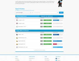#22 for Freelancer.com contest! Design our Exams Page! af edbryan